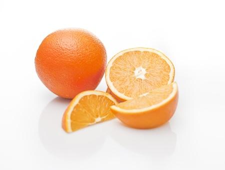fresh oranges Reklamní fotografie