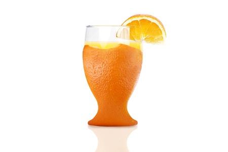 fresh glass of orange juice Reklamní fotografie