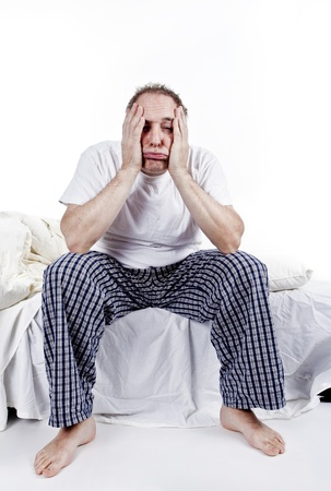 men tired in the morning Stock Photo - 8626330