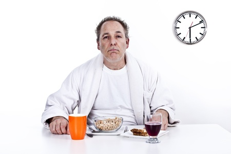 early morning breakfast