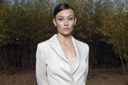 Portrait of a woman standing Banco de Imagens