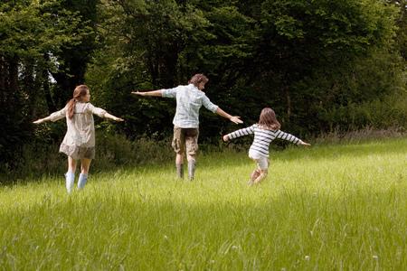 国名フィールドで実行されている家族