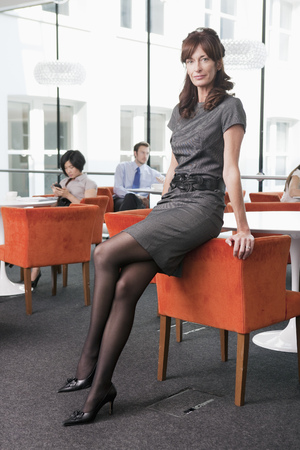 Portrait of a business women Stock Photo