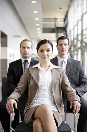Team of businesspeople,portrait