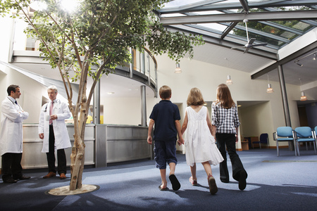 trusted: Patients in surgery waiting area
