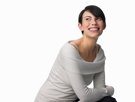 若い白人女性の肖像画