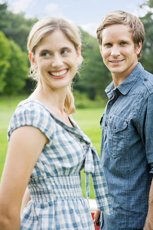 Couple outdoors Stock Photo - 86036229