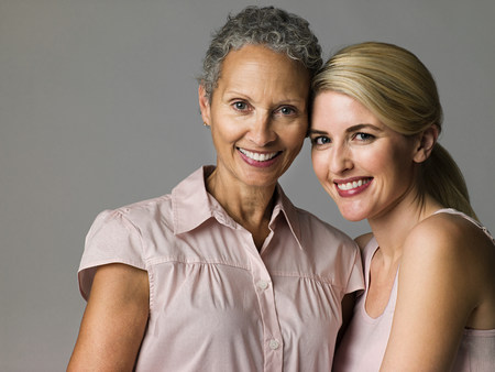Women smiling Stock Photo