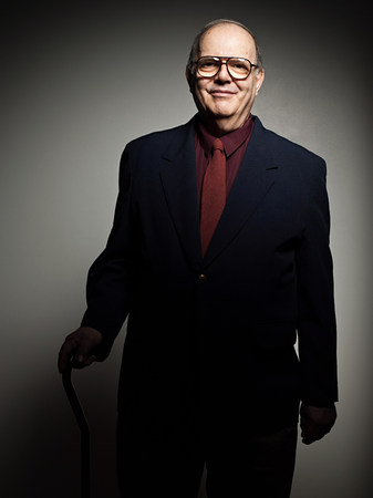 Studio portrait of cheerful senior man Stock Photo - 86036863