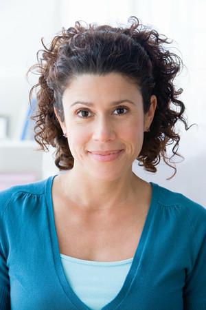 Portrait of a hispanic woman Stock Photo