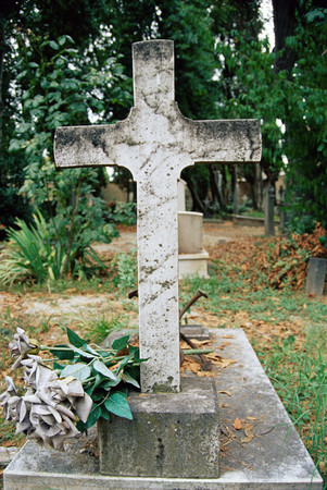 An old gravestone