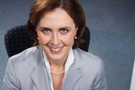 Portrait of mature businesswoman, smiling Reklamní fotografie