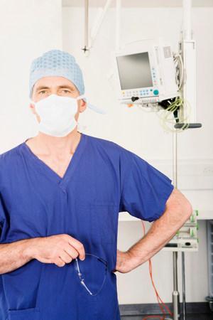 A portrait of a male surgeon 写真素材