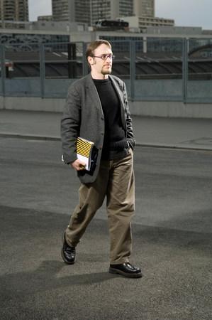 University student walking Reklamní fotografie