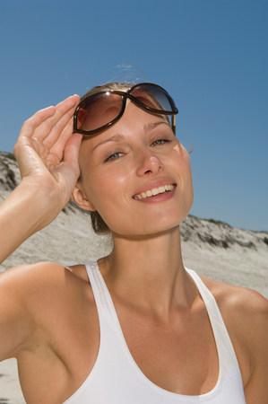 Female health beauty Stock Photo