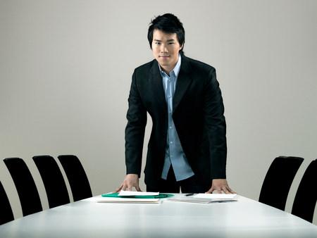 Young business man,  portrait