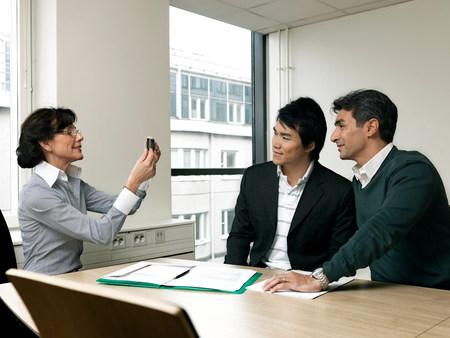 Business meeting Reklamní fotografie