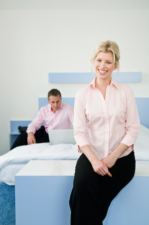 Portrait of a business woman Stock Photo
