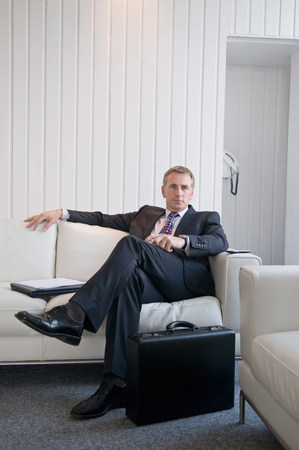 A portrait of a business male Stock Photo