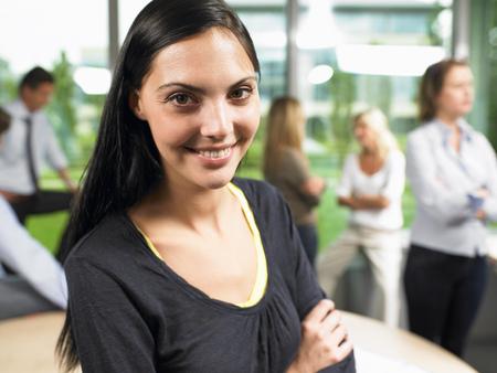 Business woman looking at camera Reklamní fotografie
