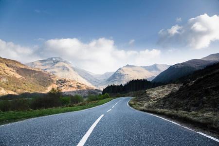 Road to Ben Nevis Фото со стока - 114075999