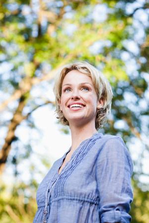 woman smiling 版權商用圖片