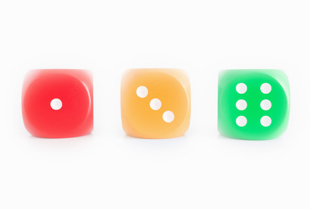 Dice with Stop & Go Colors