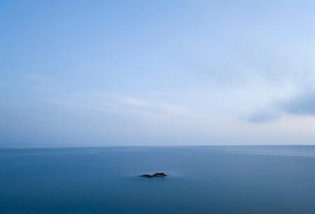 Tuscan sea at dawn