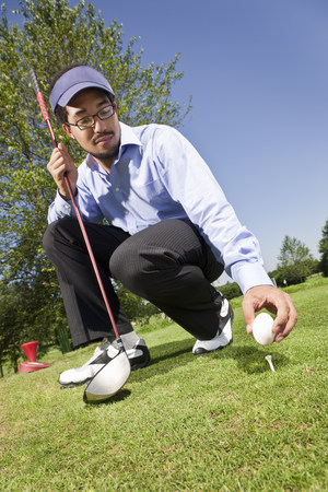 Putting an egg on the tee