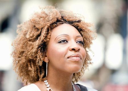 Portrait of woman Imagens
