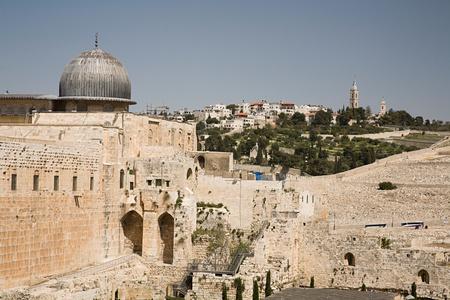 Al-aqsa mosque and east jerusalem