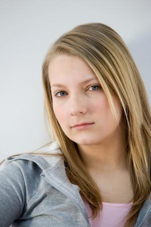 Portrait of a teenage girl Фото со стока - 116466359