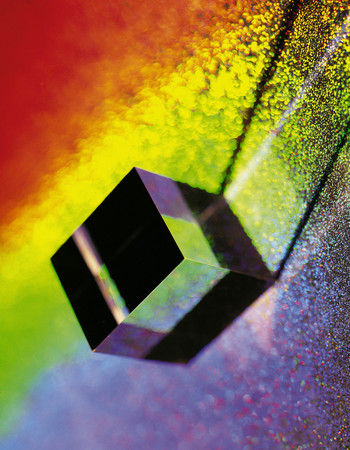 Prism background.