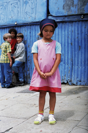 Sad girl background.