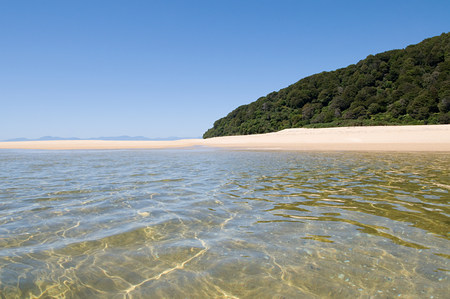 Tranquil and secluded beach