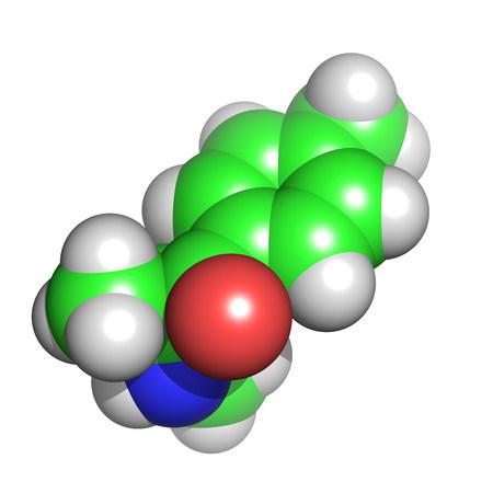 Mephedrone molecule