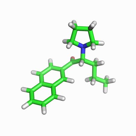 Naphyrone molecule