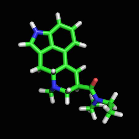 LSD molecule