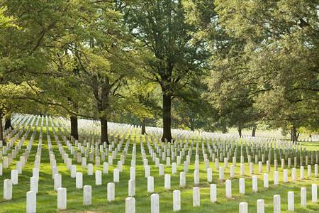Arlington National Cemetery, Virginia, USA Reklamní fotografie - 117916449