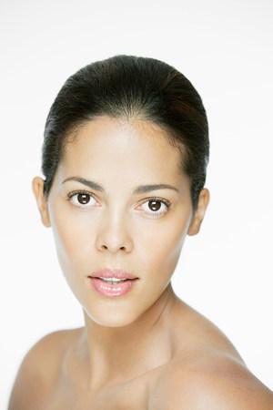 Portrait of a hispanic woman Фото со стока