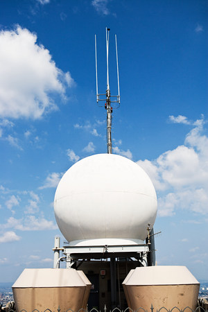 Sphere and antenna, New York