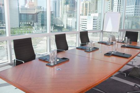 Empty boardroom Archivio Fotografico - 116950836