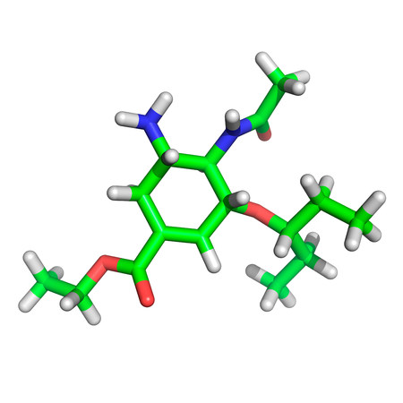 Anti-flu medication molecule