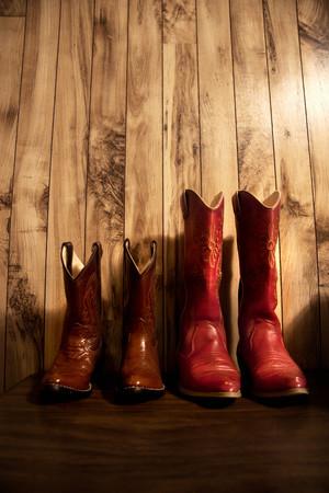 Cowboy boots 写真素材