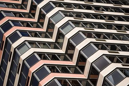 Building exterior, New York City, New York, USA