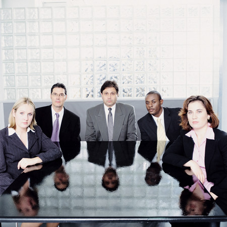 Portrait of business people 스톡 콘텐츠