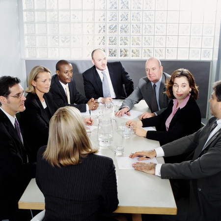 Business people in a meeting Banco de Imagens