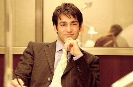 Confident looking businessman