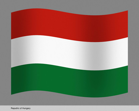 Republic of Hungary flag