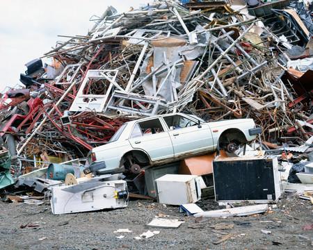 Rubbish dump Reklamní fotografie